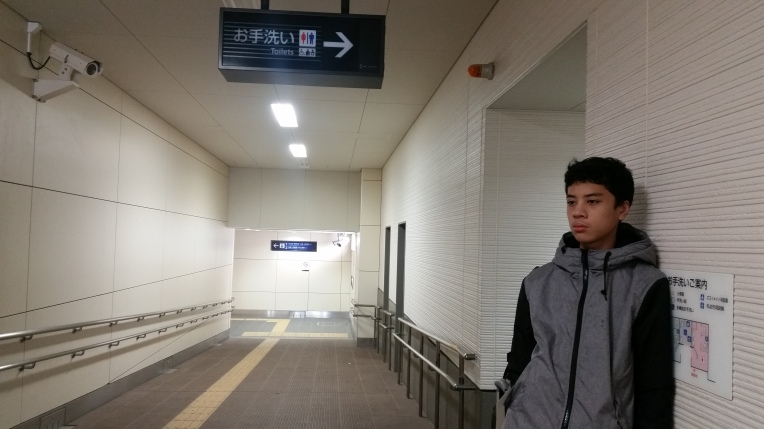 alon at morishoji station toilet