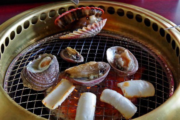 closeup seafood grill