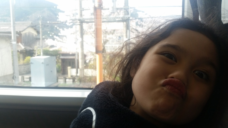 sofie making face in nanpu
