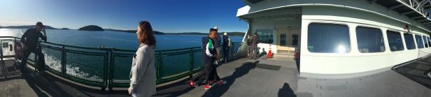ferry panorama mv samish