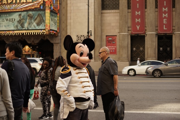 hollywood blvd mickey mouse