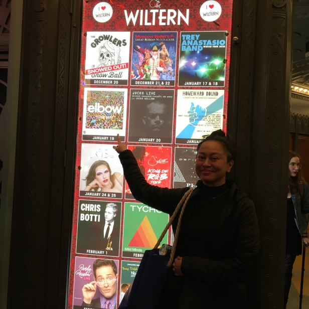 wiltern me and poster 3